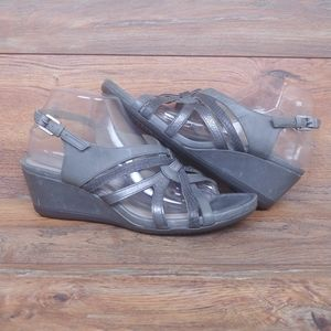 Ecco Touch 45 Wedge Sandals